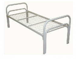 металлическая кровать км-1.40 кровати для общежитий, хостелов
