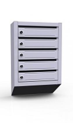 Вертикальный почтовый ящик ЭК-5