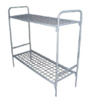 Металлическая кровать двухъярусная КМС-2
