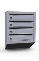 Вертикальный почтовый ящик ЭК-4