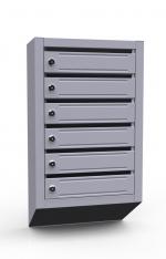 Вертикальный почтовый ящик ЭК-6