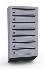 Вертикальный почтовый ящик ЭК-7