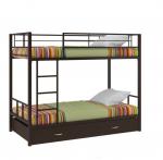 Двухъярусная кровать с лестницей Севилья