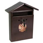 Почтовый ящик для частного дома Домик