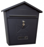 Почтовый ящик уличный ВН-21 Черный