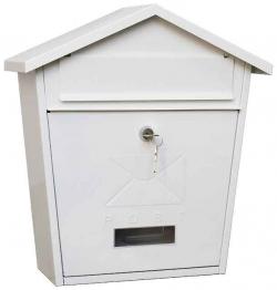 Почтовый ящик уличный ВН-21 Белый